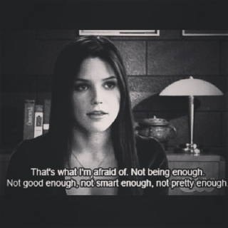 Just Not Being Good Enough..