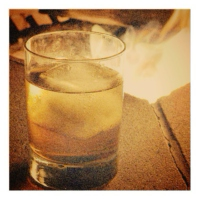 Smooth whisky & crackling fire