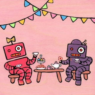 The Robot's Tea Party