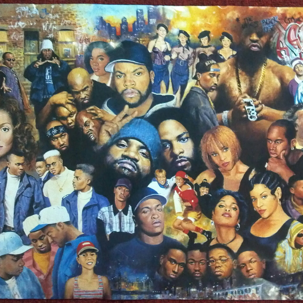Black Culture Painting Art Cover