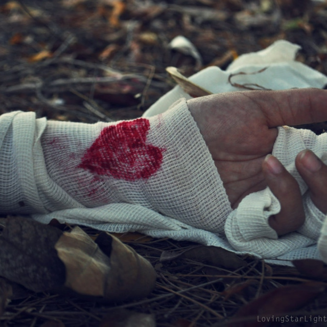 At war with love..