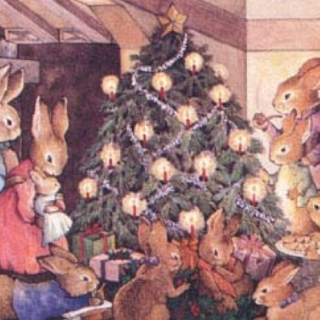 Christmas for fragile hearted rabbits.