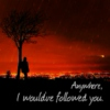 Anywhere, I would've followed you.