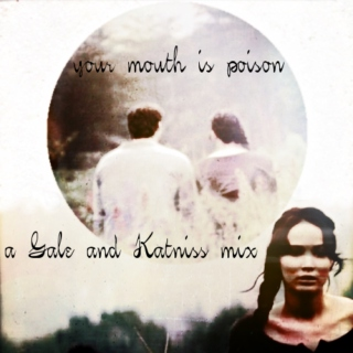your mouth is poison - a gale & katniss mix