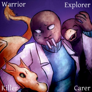 Warrior, Explorer, Killer, Carer