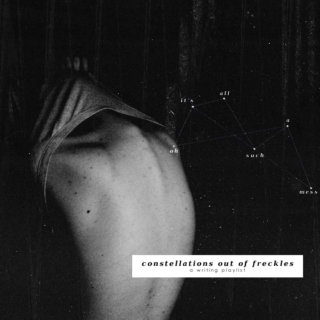 constellations out of freckles