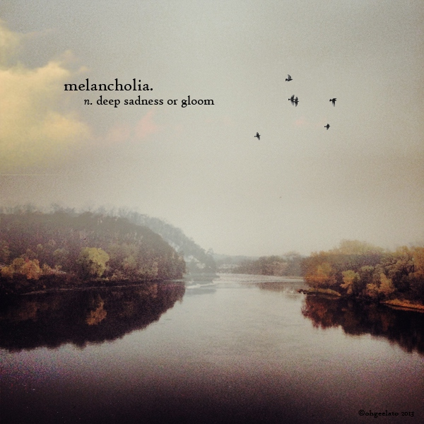 the meaning of melancholia