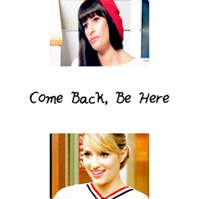 Faberry - Come Back, Be Here