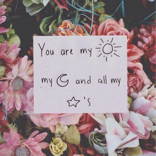 you are all my stars