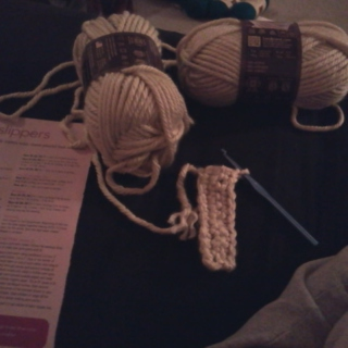 Crocheting between finals