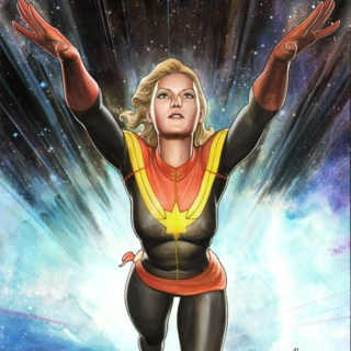 The Stars Are Where You Belong - A Carol Danvers Fanmix