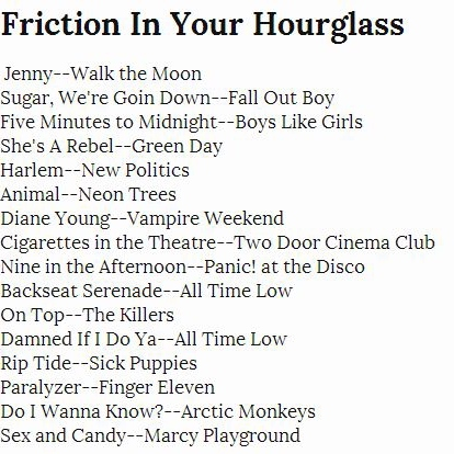 Friction In Your Hourglass