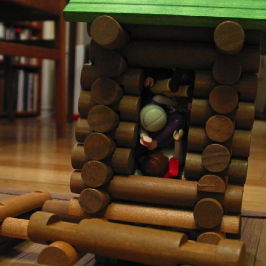 Lincoln Logs and Cookies