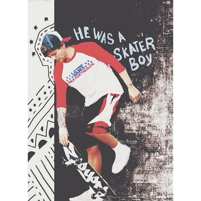 Skateboarding With Louis ☠