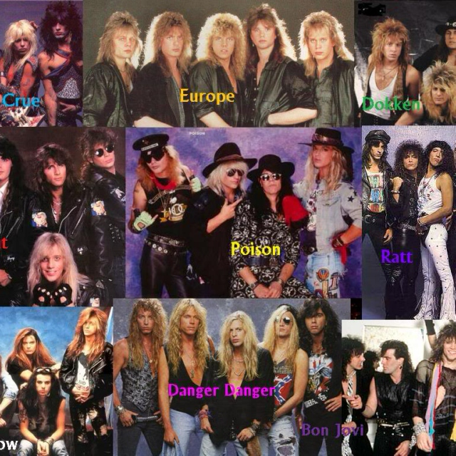 Heavy/Glam/Sleaze/Hair Metal & Hard Rock vol. 24