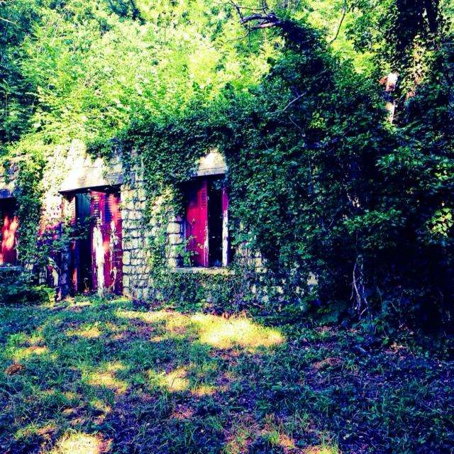 Our abandoned home ∆