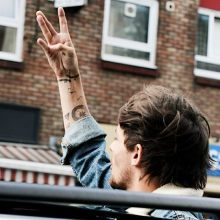 the ride home with Louis