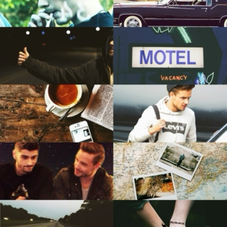Roadtrip!AU : I want to be a part of it all
