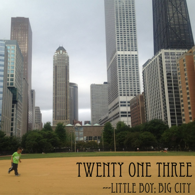 Twenty One Three: Little Boy; Big City