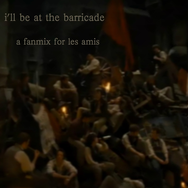 i'll be at the barricade