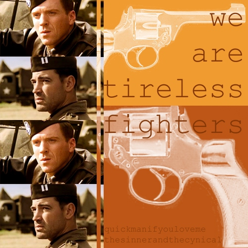 we are tireless fighters