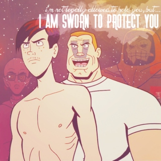 i am sworn to protect you