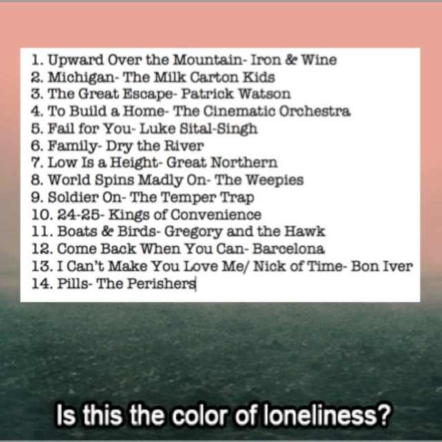 The Color of Loneliness