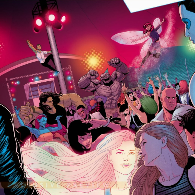 Young Avengers- The After Party