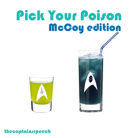 Pick Your Poison: McCoy Edition