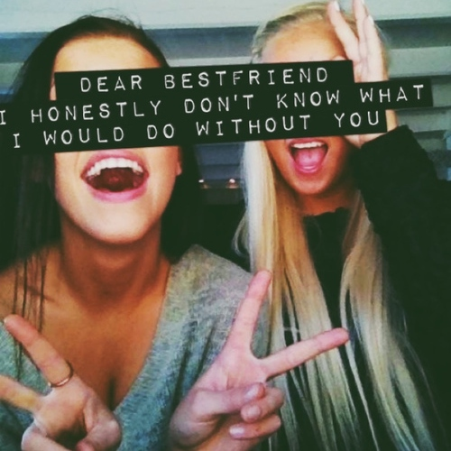 Different, but best friends♡.