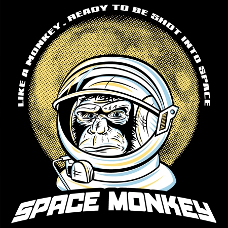 Extraterrestrial chosy chiller monkeys from outta space