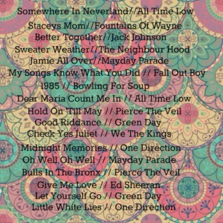 ☯songs to get you through the day☯