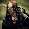 the girl on fire.