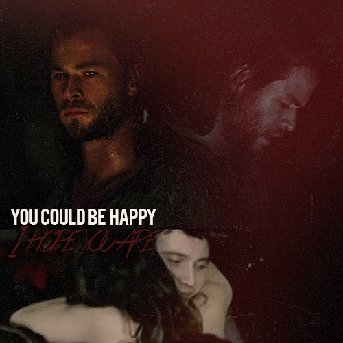 you could be happy; {romitri}