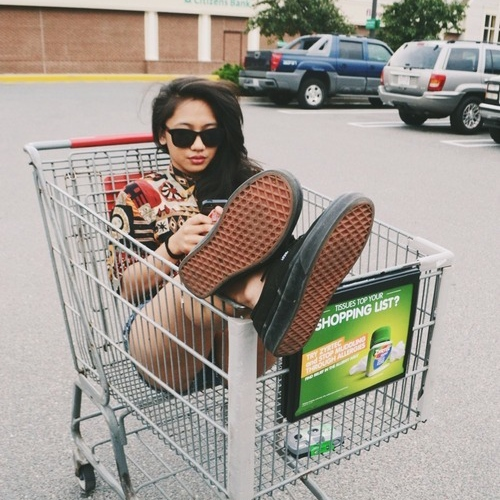 stuck at the store