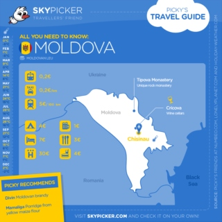 Skypicker destination: Moldova