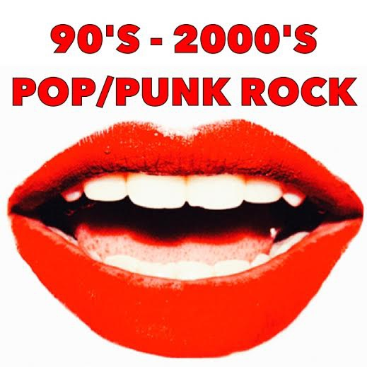 90s-2000s pop/punk rock