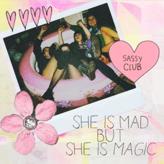 she is mad but she is magic