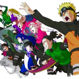 naruto. - we sure know how to run things