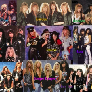 Heavy/Glam/Sleaze/Hair Metal & Hard Rock vol. 25