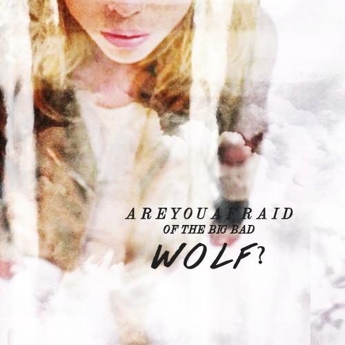 are you afraid of the big bad wolf?