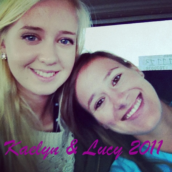 Kaelyn & Lucy 2011