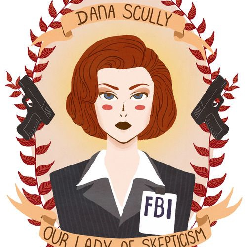 Dana Scully : Our Lady of Skepticism