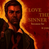 love the sinner, because he is you