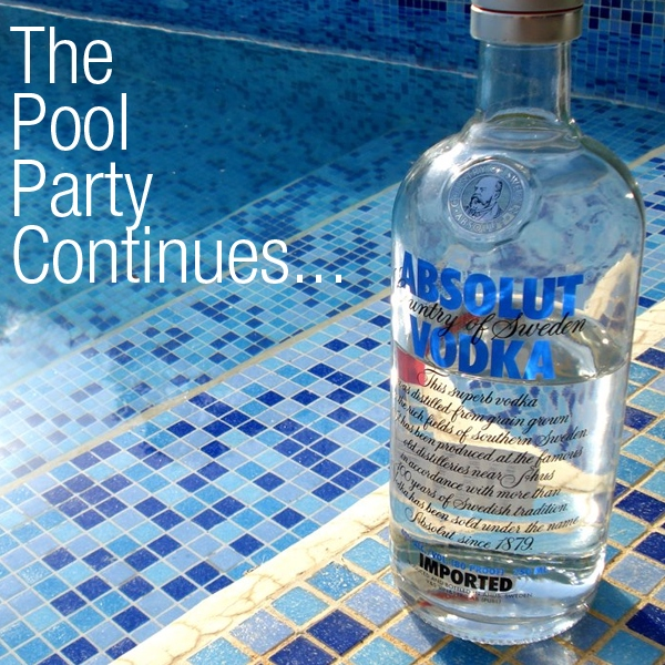 The Pool Party Continues...