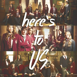 here's to us | a house of anubis mix