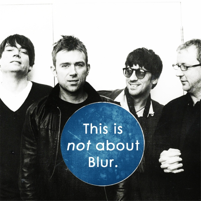 This is not about Blur