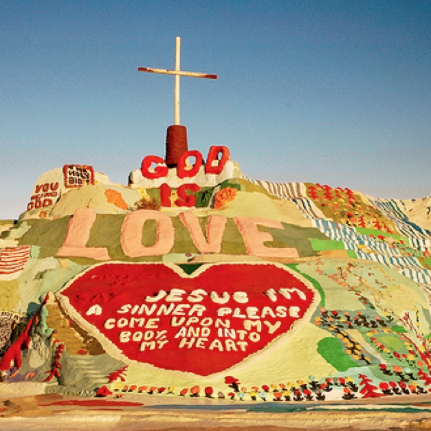 Party at Salvation Mountain
