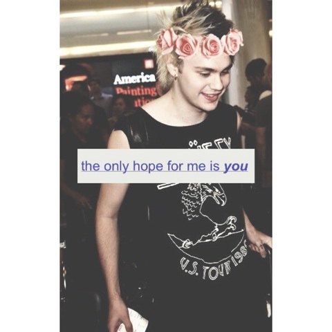 the only hope for me is you. ☼