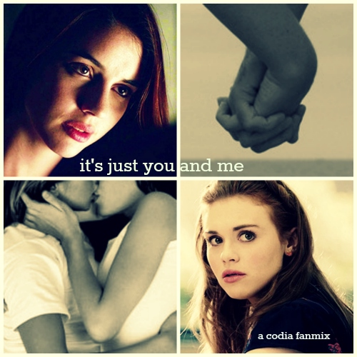 it's just you and me